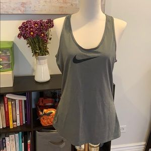 Nike Pro Gray Athletic Top